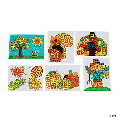 Fall Dot Marker Activity Sheets