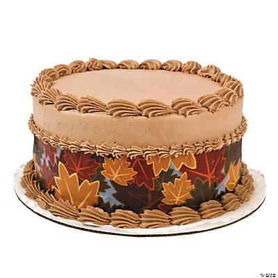 Edible Cake Decoration Sheets : Fall Edible Image  Side Sheet Cake Decorations - Oriental ...