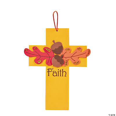 Fall Faith Cross Craft Kit