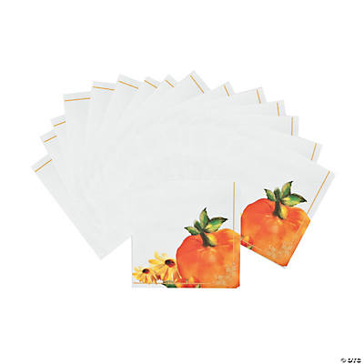 Fall Floral Luncheon Napkins