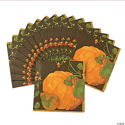 Fall Harvest Luncheon Napkins
