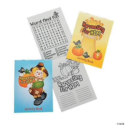 Fall Inspirations Harvest Activity Pads