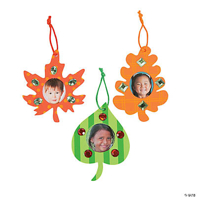 Fall Leaf Picture Frame Ornament Craft Kit