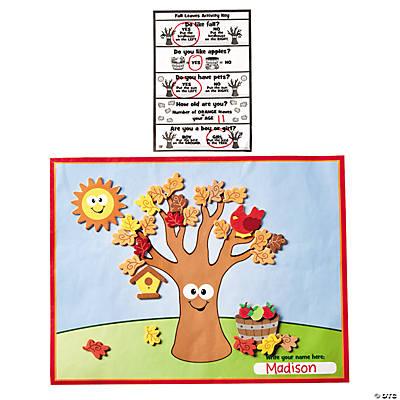 Fall Leaves Educational Craft Kit