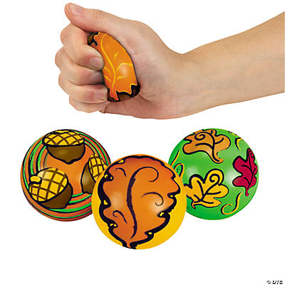 Fall Leaves Stress Balls