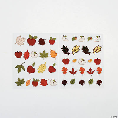 Fall Puffy Stickers
