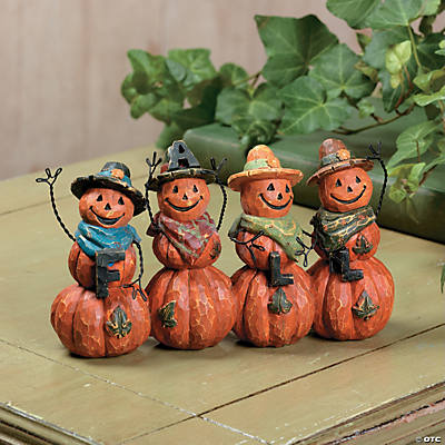 Fall Pumpkin Men