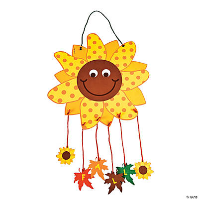 """Fall"" Sunflower Mobile Craft Kit"