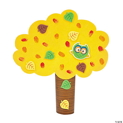 Fall Thumbprint Tree Craft Kit