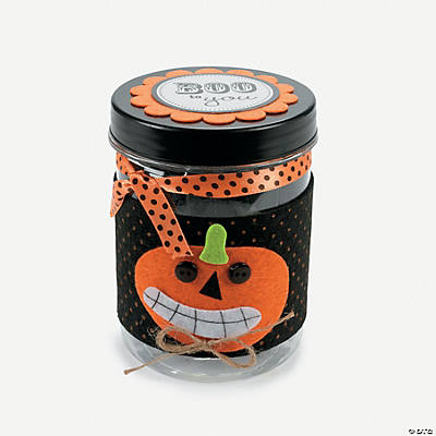 Fall Treat Jar Craft Kit