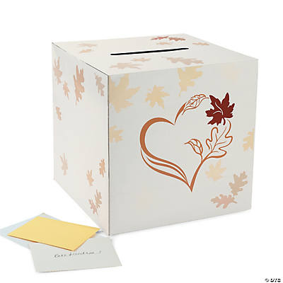 Fall Wedding Card Holder