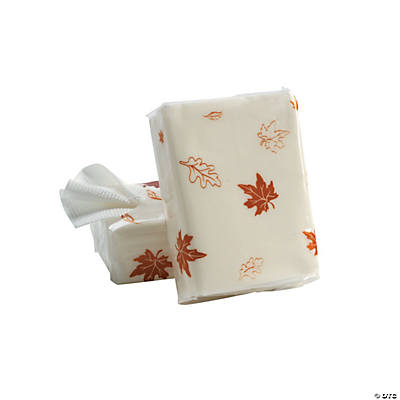 Fall Wedding Facial Tissue Packs