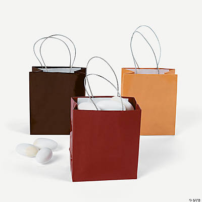 Fall Wedding Mini Gift Bags