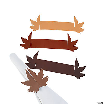 Fall Wedding Napkin Rings