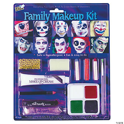 Family Halloween Makeup Kit
