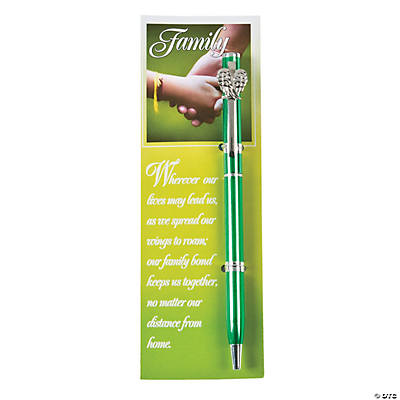 Family Pen & Bookmark Sets
