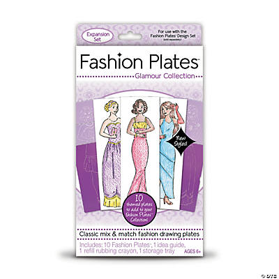 Fashion Plates Add-on Set: Glamour Collection