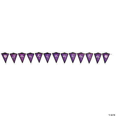 "Fashion Puppy ""Fashionista"" Pennant Banner"