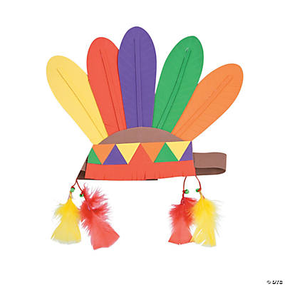 feather headband craft kit
