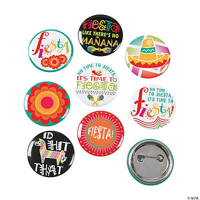 Fiesta Mini Buttons