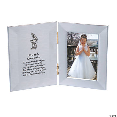 First Holy Communion Folding Picture Frame