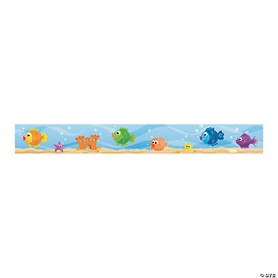 Fish Bulletin Board Border