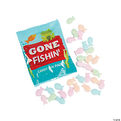 Fish Hard Candy Fun Packs