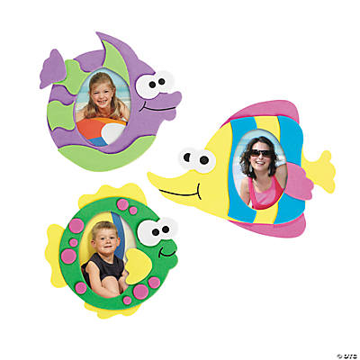 Fish Picture Frame Magnet Craft Kit