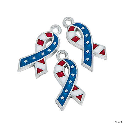Flag Ribbon Charms