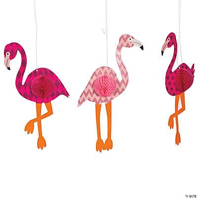 flamingo hanging decorations - Decorations