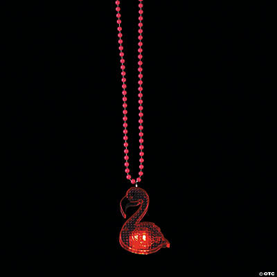 Flamingo Light-Up Necklaces