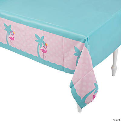 Flamingo Plastic Tablecloth