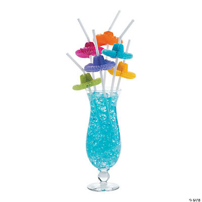 Flexible Sombrero Straws