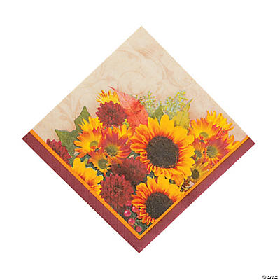 Floral Inspiration Luncheon Napkins