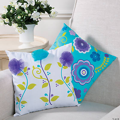 Floral Pillow Set