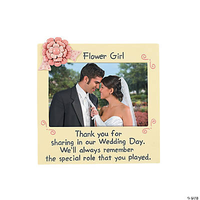 """Flower Girl"" Picture Frame"