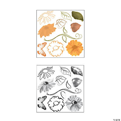 Flower Stamps