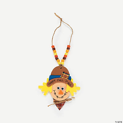 Foam Scarecrow Necklace Craft Kit