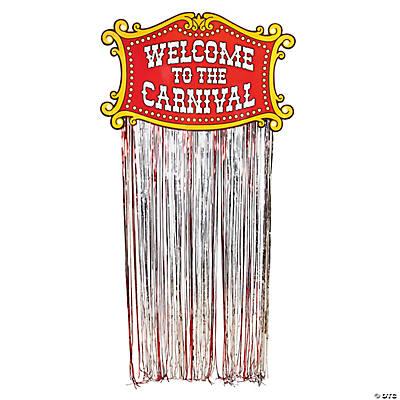Foil Carnival Door Curtain  sc 1 st  Oriental Trading & Carnival Door Curtain
