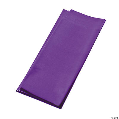 Foil Metallic Gift Wrap Sheets - Purple