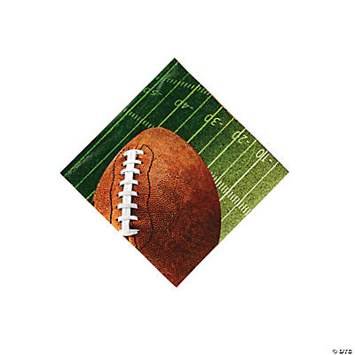 Football Beverage Napkins