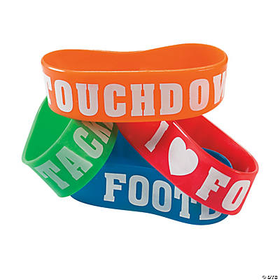 Football Big Band Bracelets