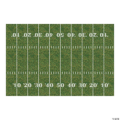 Football Field Backdrop Banner