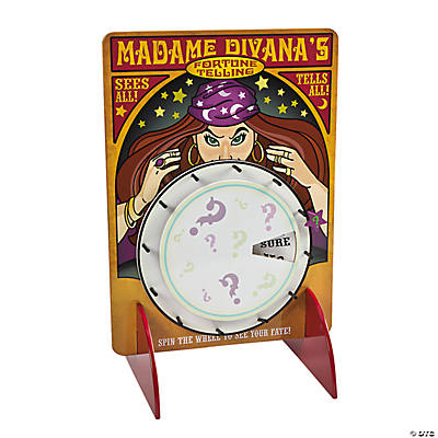 Fortune Teller Spin Game
