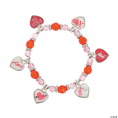 Framed Heart Charm Bracelet Craft Kit