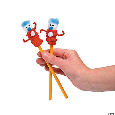 Friend 1 & Friend 2 Pencil Topper Idea