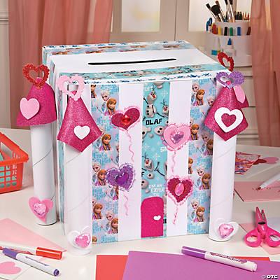 Castle Valentine Card Box Idea – Valentines Card Box Ideas