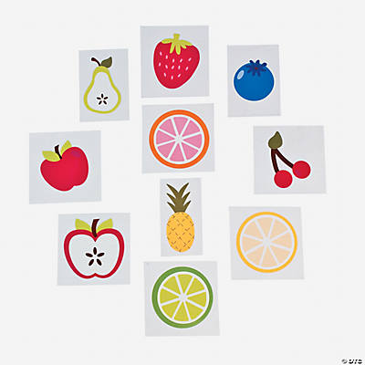 Fruit Iron-On Transfers