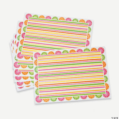 Fruit Party Placemats