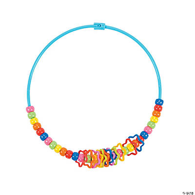Fun Band Pony Bead Necklace Craft Kit